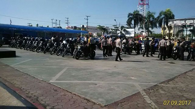 Polresta Banjarmasin Gelar Pemeriksaan Ranmor Dinas