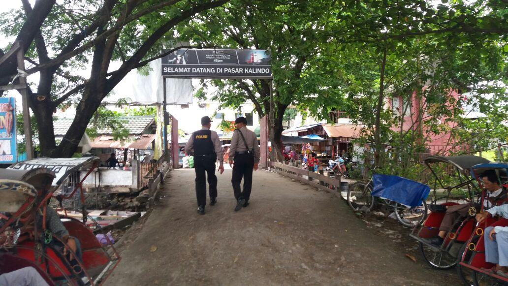 Antisipasi Terjadi Tindak Kriminal, Polsek Banjarmasin Barat Gencarkan Patroli Jalan Kaki