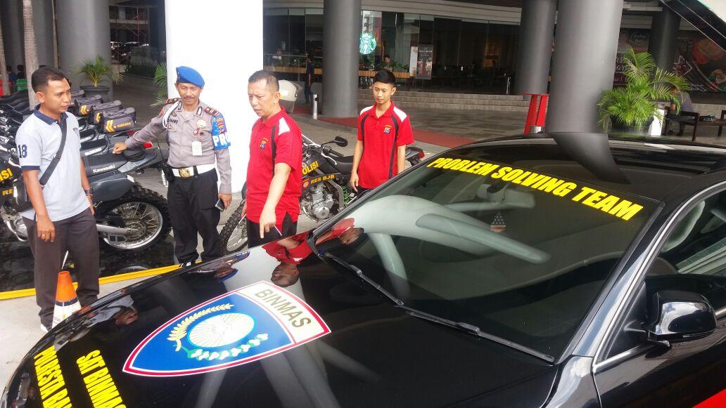 "Police Expo 2017 Polda Kalsel, Sat Binmas Polresta Banjarmasin Hadirkan Mobil ""Problem Solving Team"""
