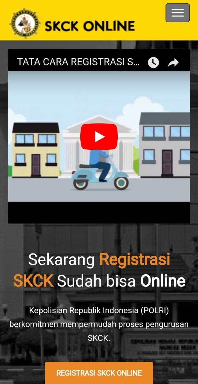 Polresta Banjarmasin : Satuan Intelkam Berikan Sosialisasi Cara Penggunaan SKCK Online Kepada Masyarakat