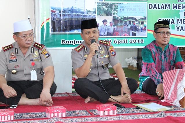 Wujudkan Akhlak Personel Polri Yang Lebih Baik, Polresta Banjarmasin Gelar Perayaan Isra Mi'raj Nabi Besar Muhammad SAW