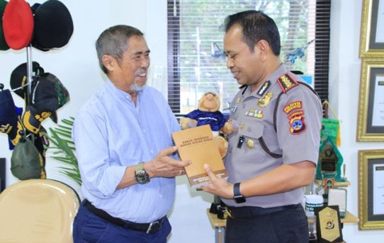 Kapolresta Banjarmasin Kunjungi Kantor Banjarmasin Post Group
