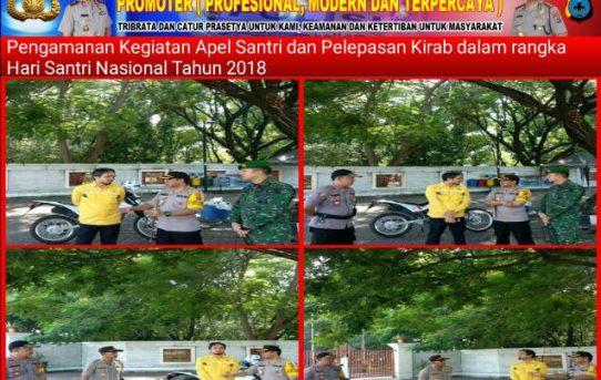 Peringatan Hari Santri Nasional di Banjarmasin, Kapolresta Banjarmasin Pimpin Langsung Pengamanan