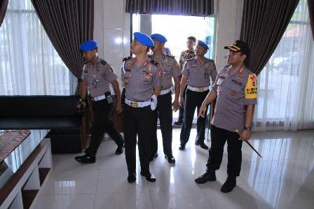 Kunjungan dari Divisi Mabes Polri di Polresta Banjarmasin