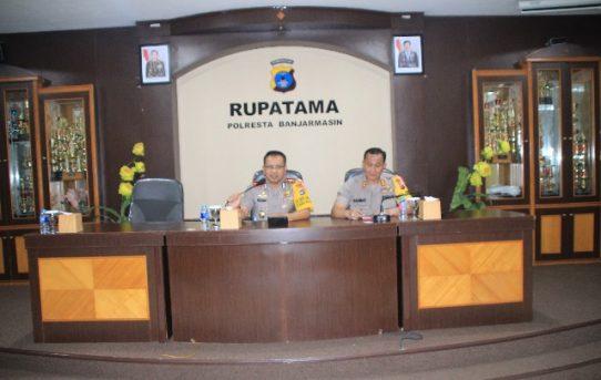 Kapolresta Banjarmasin Pimpin Anev Operasi Mantab Brata Intan 2018