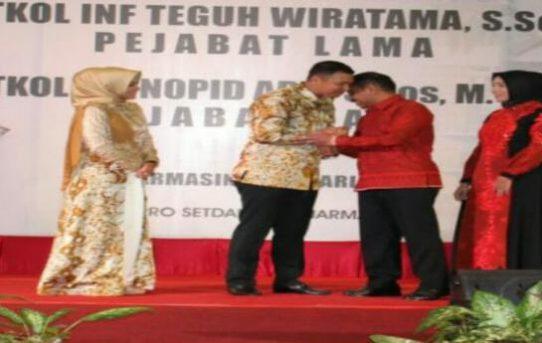 Kapolresta Banjarmasin Hadiri Acara Pisah Sambut Dandim 1007/Banjarmasin