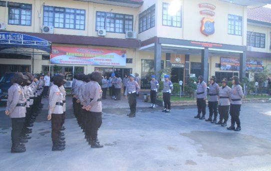 Polresta Banjarmasin : Seksi Propam Gelar Gaktibplin Terhadap Personel Polwan