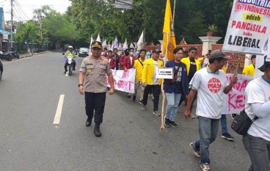 Amanakan Aksi Federasi Serikat Pekerja Metal Indonesia, Kapolresta Pimpin Langsung Pengamanan