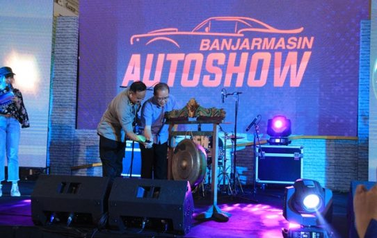 Waka Polresta Buka Secara Resmi Banjarmasin Auto Show (BAS) Tahun 2019