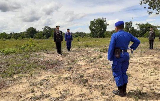 Waka Polresta Banjarmasin Pimpin Upacara Pemakaman Alhamrhum IPDA Sajadi
