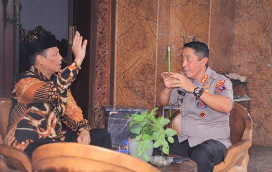 Kapolresta Banjarmasin Bersilaturahmi Kepada Salah Satu Tokoh Masyarakat Provinsi Kalimantan Selatan