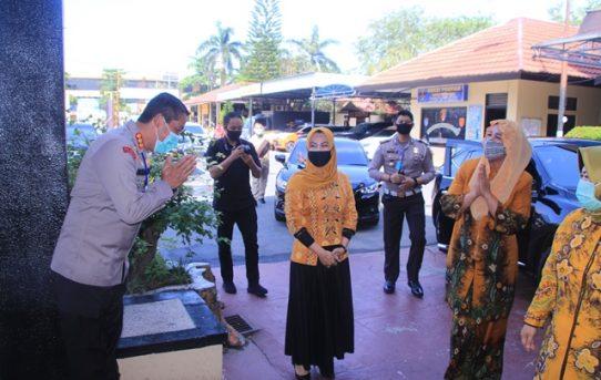Ketua Bhayangkari Daerah Kalsel Kunjungi Mako Polresta Banjarmasin, Ada apa ya?