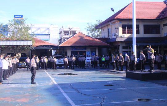 Apel Jam Pimpinan, Kapolresta Banjarmasin Tekankan Jaga Komunikasi Baik Dengan Masyarakat