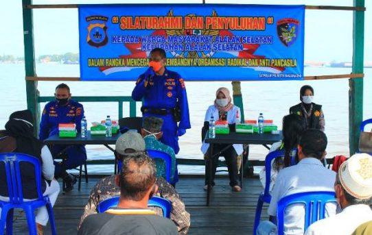 Satuan Polair Polresta Banjarmasin, Edukasi Warga Pesisir Sungai Barito