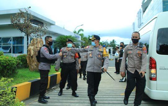Polresta Banjarmasin Lakukan Serangkaian Kesiapan Sambut kedatangan Panglima TNI dan Kapolri