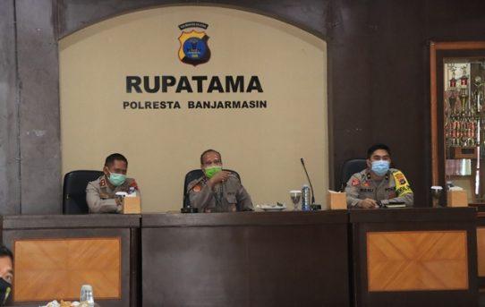 Terima Kunjungan Tim RBP Polda Kalsel, Polresta Banjarmasin Diharapkan Siap Menuju WBBM