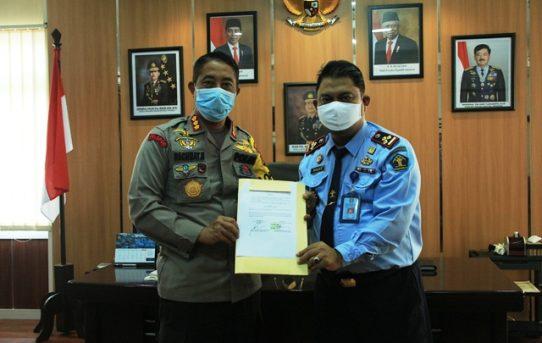 MOU Kerjasama Penanganan Pidana Anak Kapolresta Banjarmasin Siap Bersinergi Bersama BAPAS