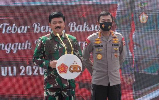 Dukung Ketahanan Pangan, Kapolri dan Panglima TNI Resmikan Kampung Tangguh Nusantara
