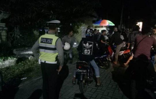 Antisipasi Balap Liar, Polsek Banjarmasin Utara Amankan Belasan Motor dan Beberapa Pemuda Mabuk Miras