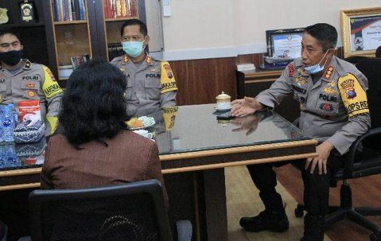 Terima Kunjungan PTUN Banjarmasin, Kapolresta: Siap Bersinergi