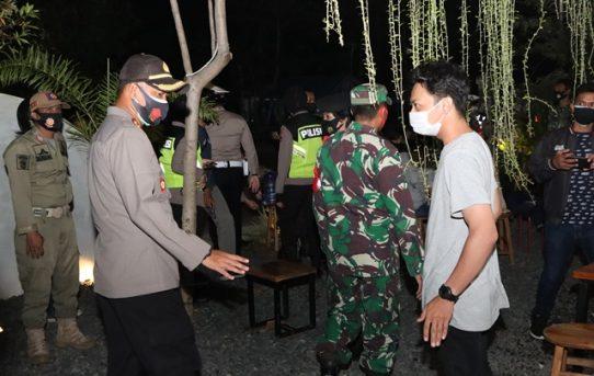 Personel Gabungan Di Banjarmasin Sosialisasikan Perwali Ke THM