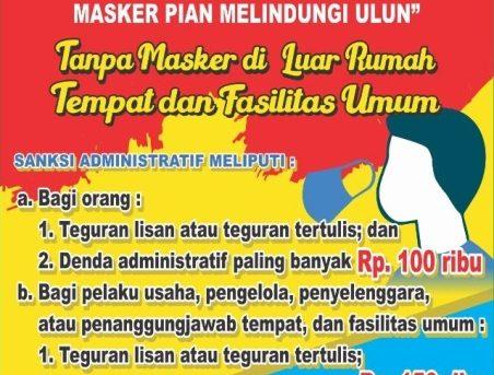 1 September 2020, Perwali Nomor 68 Resmi Diberlakukan Di Kota Banjarmasin