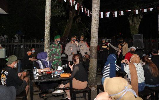 Sosialisasikan Perwali, Personel Gabungan Di Banjarmasin Sasar Cafe dan THM