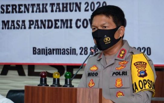 Buka Rakernis Pilkada 2020, Kapolda Kalsel : Anggota Harus Berpedoman TWT
