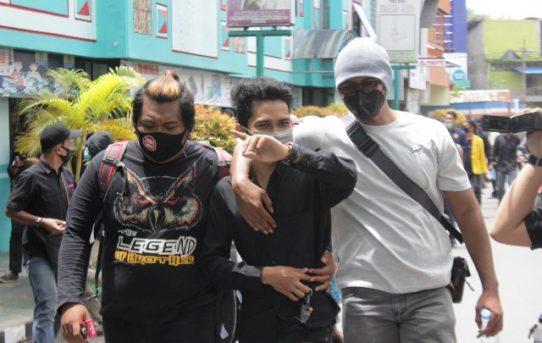 Demo Mahasiswa di DPRD Kalsel, Tujuh Pemuda Mabuk Diamankan Polisi