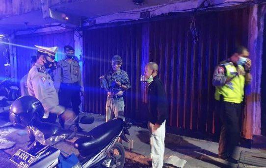 Jaga Kondusifitas Akhir Pekan, Polresta Banjarmasin Gelar Patroli Cipkon