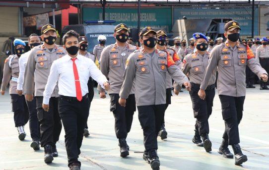 Atas Dedikasi Dan Prestasi Kerja, Sebelas Personel Menerima Penghargaan Dari Kapolresta Banjarmasin