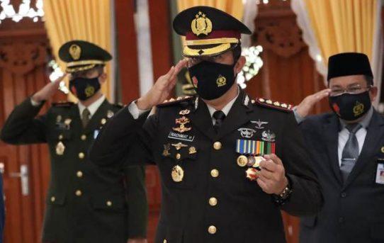 Digelar Virtual, Kapolresta Banjarmasin Ikuti Upacara Peringatan Dirgahayu TNI Ke-75