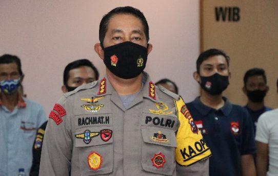 Kapolresta Banjarmasin Ikuti Webinar Penyuluhan Anti Narkoba