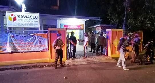 Pastikan Pilkada Berjalan Aman, Polresta Banjarmasin Rutin Sambangi KPU dan Bawaslu