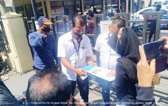 Sambangi Polda Kalsel, Dua LSM Sampaikan Dukungan untuk Kapolda dan Jajaran