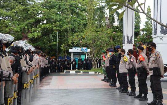 Demo Tolak Omnibus Law Jilid IV Di Banjarmasin Berlangsung Kondusif