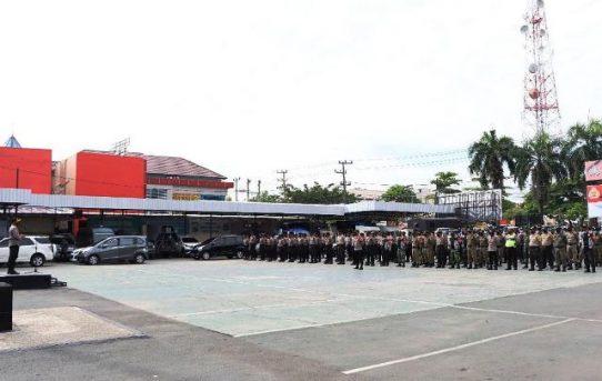 Lepas Zona Merah, Tim Gugus Kota Banjarmasin Tak Kendorkan Operasi Yustisi