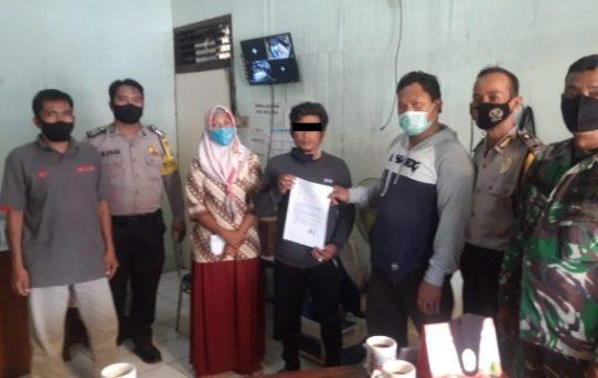 Bhabinkamtibmas Belitung Utara Damaikan Warga Yang Berselisih
