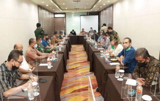 Rapat Bulanan Forkopimda Banjarmasin Bahas Kesiapan Pilkada