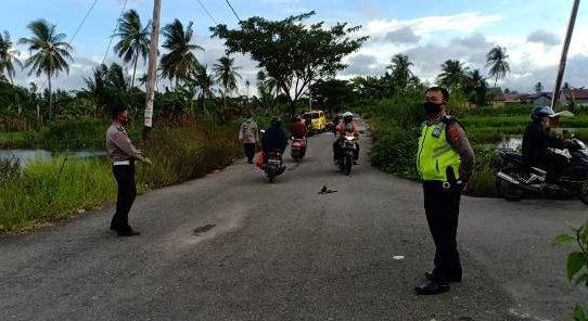 Polresta Banjarmasin Bubarkan Aksi Balap Liar, Pembalap Kocar Kacir