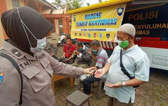 Jemput Bola Keluhan Masyarakat, Polresta Banjarmasin Gelar Warung Curhat Kamtibmas