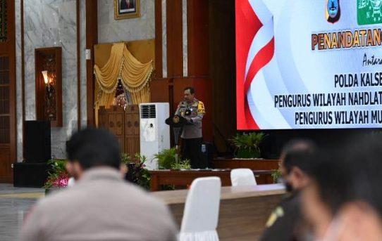 Tangkal Radikalisme, Polda Kalsel Gandeng NU dan Muhammadiyah