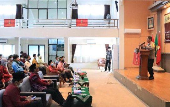 Hadiri Musyawarah Cabang IMM Banjarmasin, Kapolresta Ajak Mahasiswa Tangkal Hoax