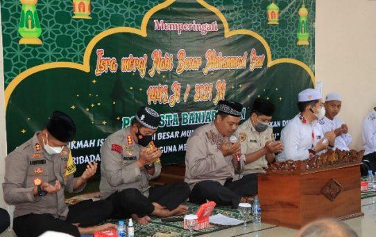 Pererat Ukhuwah Islamiyah, Polresta Banjarmasin Gelar Peringatan Isra Miraj