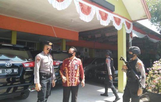 Jaga Situasi Aman Jelang Sidang Putusan MK, Polresta Banjarmasin Gelar Patroli Cipkon