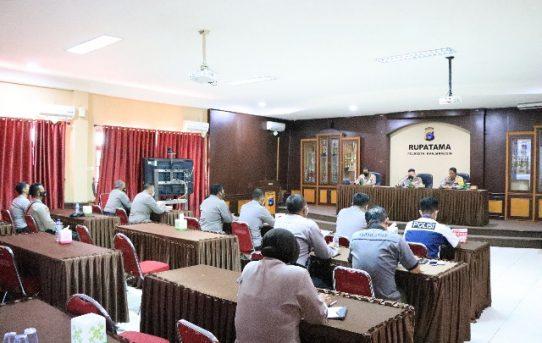 Kunjungi Polresta Banjarmasin, Tim Mabes Polri Gelar Supervisi Dan Asistensi Penanganan Karhutla