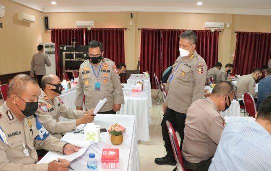 Kunjungi Polresta Banjarmasin, Sespim Lemdiklat Polri Gelar Penelitian