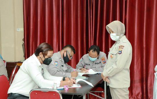 75 Personel Polresta Banjarmasin Ikuti Tes Psikologi Senjata Api