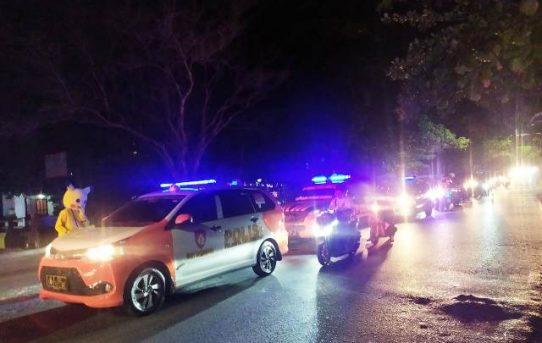Personel Gabungan Di Banjarmasin Gelar Patroli Cipkon Pada Perayaan Paskah 2021
