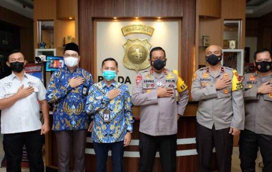 Kapolda Kalsel Terima Kunjungan Silaturahmi Kepala Perwakilan Ombudsman RI